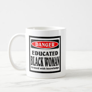 Educated Black Woman coffee mug. Coffee Mug