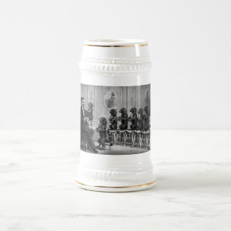 Educated Dogs Beer Stein