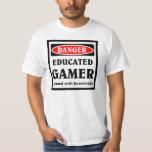 Educated Gamer Tee Shirt