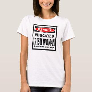 Educated Irish Woman T-Shirt
