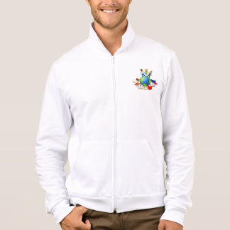 Education Around the World Printed Jackets