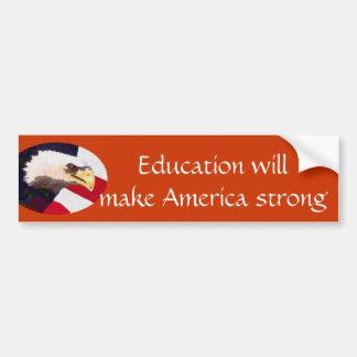 Education Bumper Sticker