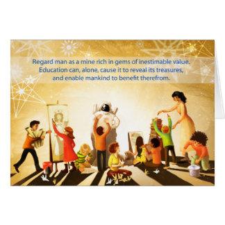 Education Card