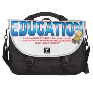 Education Dr Bum Head Laptop Commuter Bag