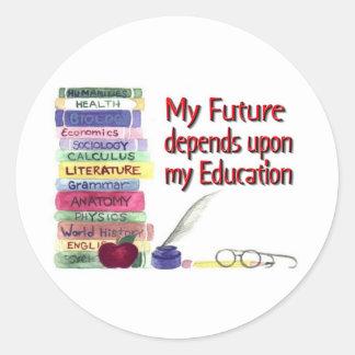 Education equals Future Sticker