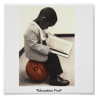 """Education First"" Poster"