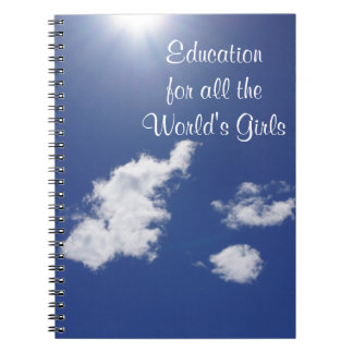 Education for All the World's Girls Global Note Books