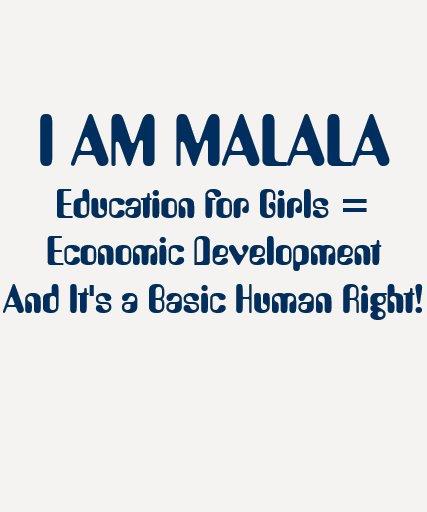 Education for Girls Leads To Economic Development Shirt