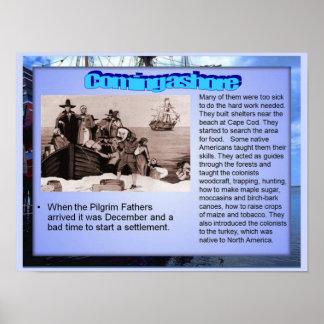 Education, History, Coming ashore Print