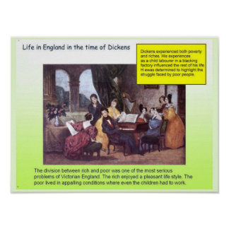 Education History Dickensian lifestyle Posters