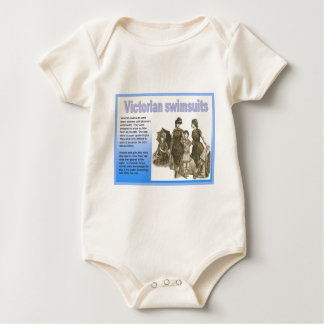 Education, History Fashion Victorian Swimsuits Baby Bodysuit