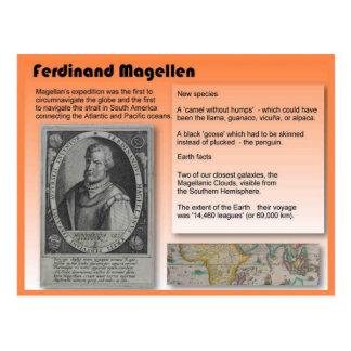 Education, History, Ferdinand Magellan Postcard