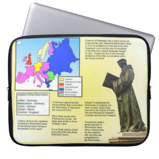 Education,History, Reformation, Spread of reform Laptop Sleeve