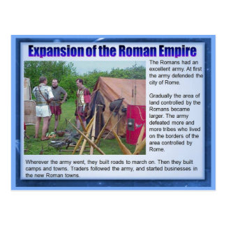 Education, History, Romans, Expansion of Empire Postcard