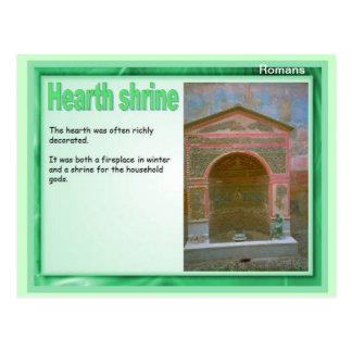 Education, History, Romans, Hearth Shrine Postcard