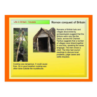 Education, History, Romans, Houses and Homes Postcard