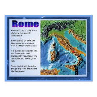 Education, History, Romans, Roman Expansion Postcard