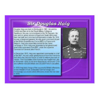 Education, History, World War I, Sir Douglas Haig Postcard