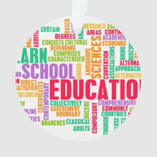 Education Industry for Children to Learn Ornament