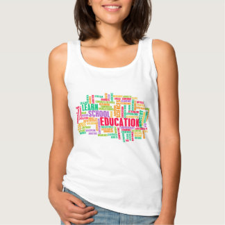 Education Industry for Children to Learn Tank Top
