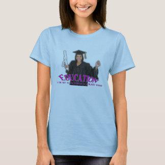 Education is Key Tee Womens purple