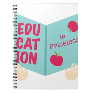 Education Is Priceless Notebooks