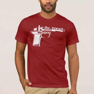 Education is the most powerful weapon T-Shirt