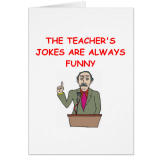education joke card