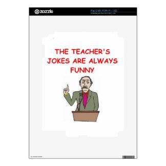 education joke iPad 2 skin