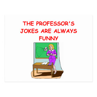 education joke postcard