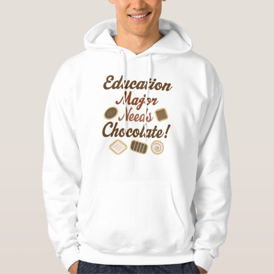 Education Major Chocolate Hoodie