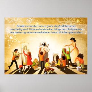 Education (Norwegian) Poster