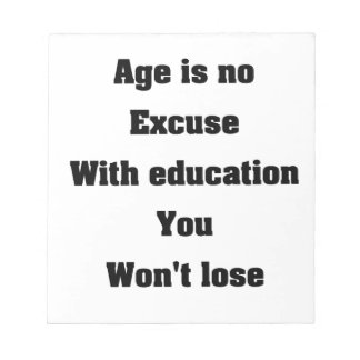 Education Note Pad