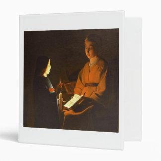 Education of the Virgin by Georges de la Tour Binder