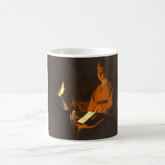 Education of the Virgin by Georges de la Tour Classic White Coffee Mug