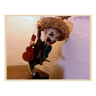 Education,Performing Arts, Mexican Marionette Postcard