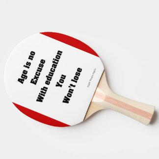 Education Ping Pong Paddle