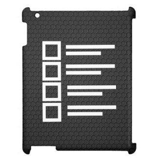 Education Plans Minimal iPad Cases