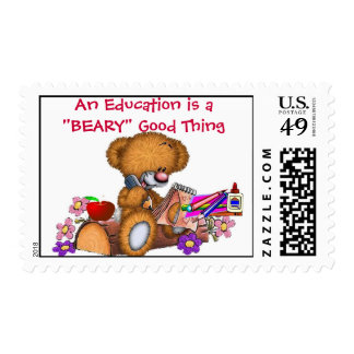 Education Postage Stamps