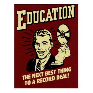 Education Postcard
