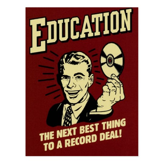 Education Postcard