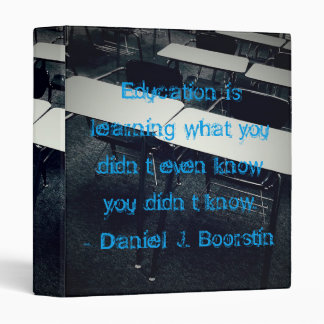 """Education Quote 1"""" Binder"""
