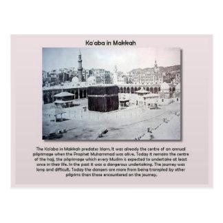 Education, Religion, Islam, Ka'aba in Makkah Postcard
