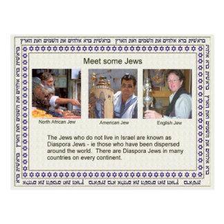 Education,  Religion,  Judaism, Meet some Jews Postcard