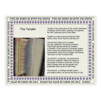 Education,  Religion,  Judaism, Tenakh Postcard