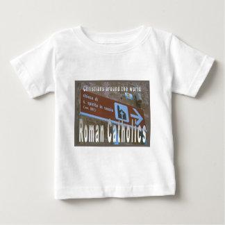 Education, Religion, Roman Catholics worldwide T-shirt