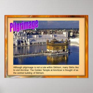 Education, Religion, Sikh Pilgrimage Poster