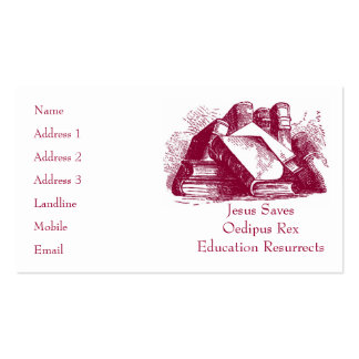 Education Resurrects Business Card