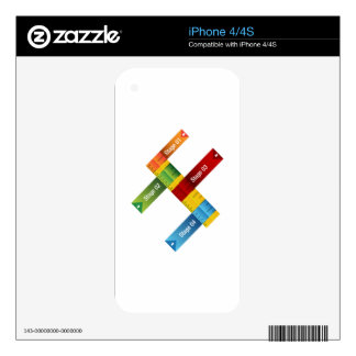 Education Ruler Chart Skin For The iPhone 4
