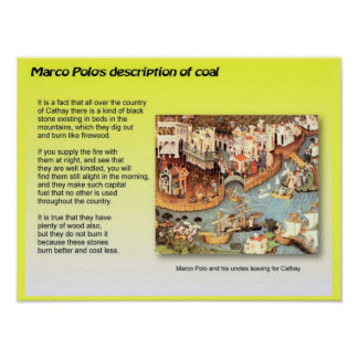 Education, Science,  Coal by Marco Polo Print